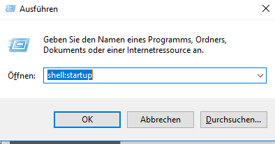 Ordner Windows 10 Autostart